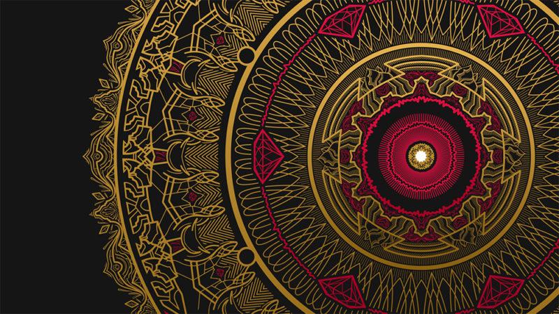 Mandala Art for treating Anxiety Yeti Journals